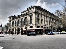 Teatro Parigi Francia di Chatelet immagini stock libere da diritti