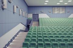 Teatro Pasillo Imagen de archivo libre de regalías