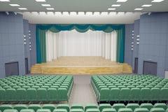 Teatro Pasillo stock de ilustración