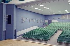 Teatro Pasillo Fotos de archivo libres de regalías