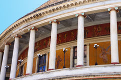 The Teatro Politeama of Palermo in Sicily Royalty Free Stock Photo