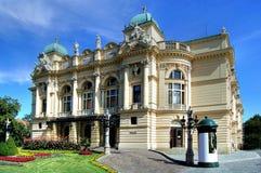Teatro in Polonia Fotografia Stock