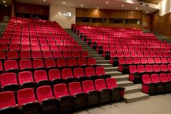 Teatro pronto per l'esposizione Fotografia Stock Libera da Diritti