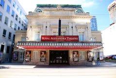 Teatro real de Alexandra imagens de stock
