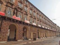 Teatro real de Teatro REGIO em Turin Foto de Stock