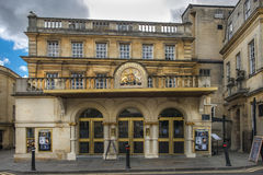 Teatro real no banho, Inglaterra Fotografia de Stock