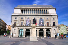 Royal Theatre, Madrid Royalty Free Stock Images