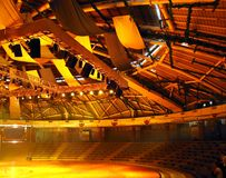 Teatro redondo Fotografia de Stock Royalty Free