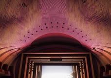 Teatro Regio (kunglig teater) huvudsaklig korridor i Turin arkivfoton