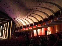 Teatro Regio (kunglig teater) huvudsaklig korridor i Turin arkivbilder