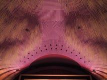 Teatro Regio (kunglig teater) huvudsaklig korridor i Turin royaltyfria bilder
