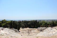 Teatro romano immagine stock