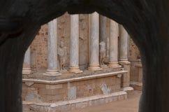 Teatro romano Fotografia Stock Libera da Diritti