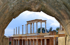 Teatro romano Fotos de archivo