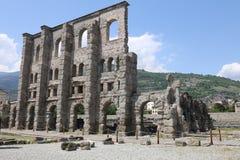 Teatro romano Imagem de Stock