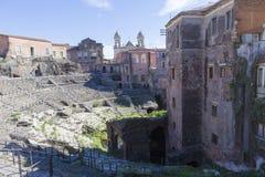 Teatro romano Fotografía de archivo