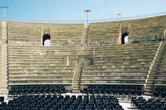 Teatro romano antico Fotografie Stock Libere da Diritti