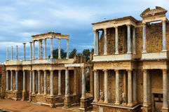 Teatro romano antico Fotografia Stock