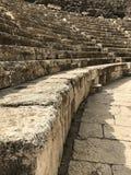 Teatro romano antigo de Scythopolis Fotografia de Stock