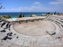 Teatro romano a Byblos, Libano Fotografie Stock Libere da Diritti