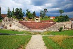 Teatro romano de Augusta Raurica Fotos de archivo