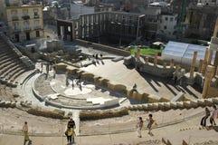 Teatro romano de Cartagena Fotografia de Stock