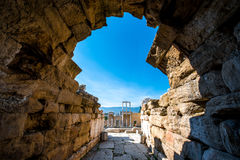 Teatro romano de Plovdiv Imagen de archivo libre de regalías