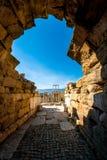 Teatro romano de Plovdiv Fotografia de Stock