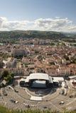 Teatro romano de Vienne fotografía de archivo