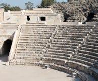 Teatro romano di Beit Shean immagini stock libere da diritti
