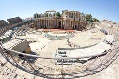 Teatro romano di Merida Immagini Stock Libere da Diritti