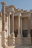 Teatro romano em Caesarea - Israel Foto de Stock