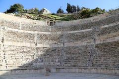 Teatro romano en Amman, Jordania Foto de archivo