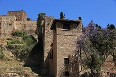Teatro Romano, Histiric Building, Malaga, Spain Royalty Free Stock Images