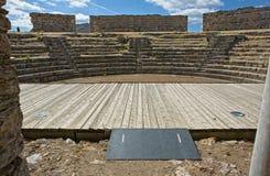 Teatro romano II di Regina Immagine Stock