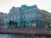 Teatro in San Pietroburgo, Russia di dramma di Bolshoi Fotografia Stock Libera da Diritti