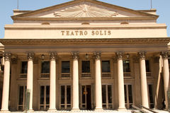 Teatro Solís, Uruguay Imagen de archivo