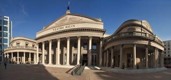 Teatro Solis Στοκ φωτογραφία με δικαίωμα ελεύθερης χρήσης