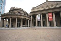 Teatro Solis Montevideo Uruguay stock fotografie
