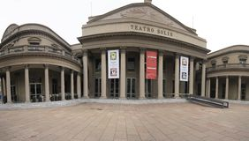 Teatro Solis Montevideo Uruguay Royalty Free Stock Photography