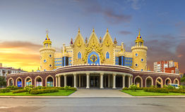 Teatro Tatar do fantoche do estado Foto de Stock Royalty Free