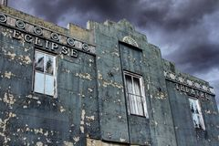 Teatro terrificante Fotografie Stock Libere da Diritti