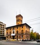 Teatro Testoni en Bolonia, Italia Imagenes de archivo
