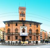 Teatro Testoni en Bolonia, Italia Imágenes de archivo libres de regalías