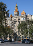 Teatro Tivoli, Barcelona Spanje Royalty-vrije Stock Foto
