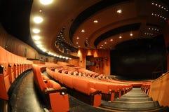 Teatro vacío Imagen de archivo libre de regalías