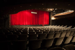 Teatro vacío imágenes de archivo libres de regalías