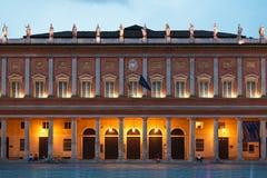 Teatro Valli em Reggio Emilia Fotos de Stock Royalty Free