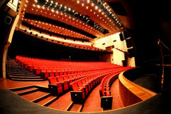 Teatro vazio Fotos de Stock Royalty Free