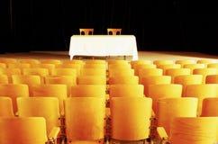 Teatro vazio 3 fotografia de stock royalty free